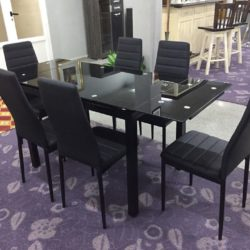 mesa extensible negra